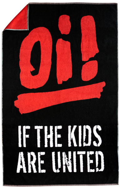 """Handtuch """"Oi! If The Kids Are United"""" (groß)"""