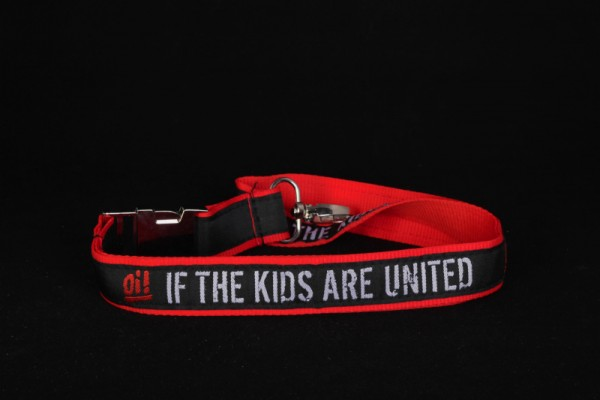 """Schlüsselband """"Oi! If The Kids Are United"""""""