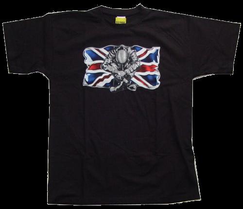 "T-Shirt ""Skinhead Union Jack Flag"""