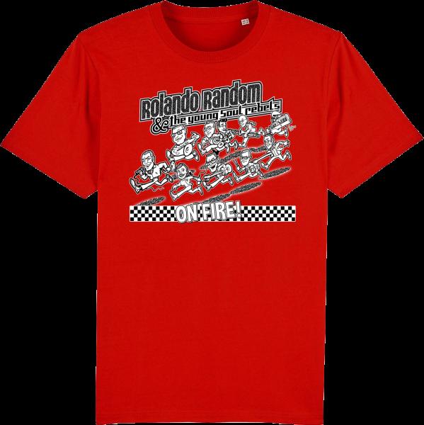"T-Shirt ""Rolando Random... - On Fire"" (Herren)"