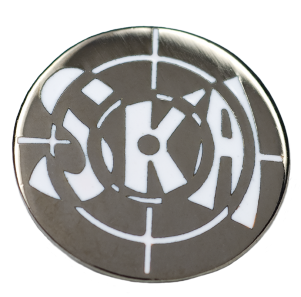 Metallanstecker Ska-Target