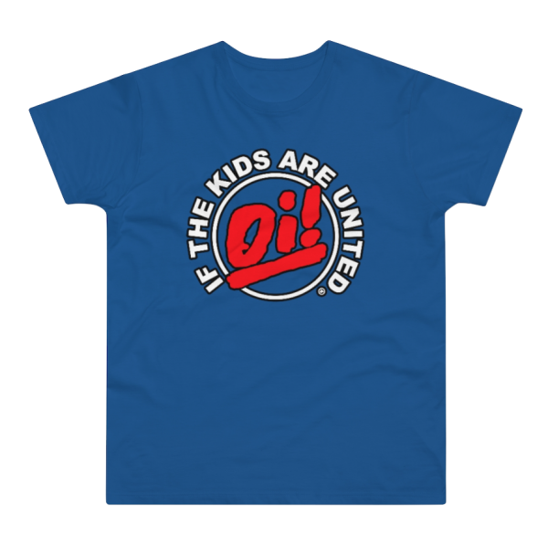 """T-Shirt """"Oi! If The Kids Are United"""" (PoD)"""