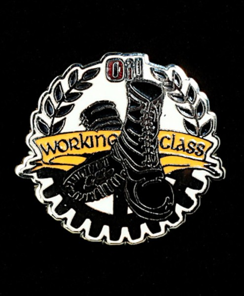 """Metal-Pin """"Oi! Working Class Boots"""""""