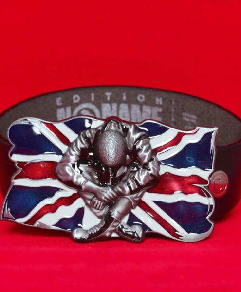 """Gürtelschließe """"Skinhead Union Jack Flag"""""""