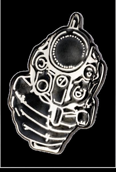 Metallanstecker Gun
