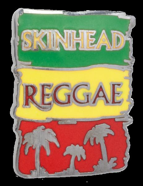 Metallanstecker Skinhead Reggae