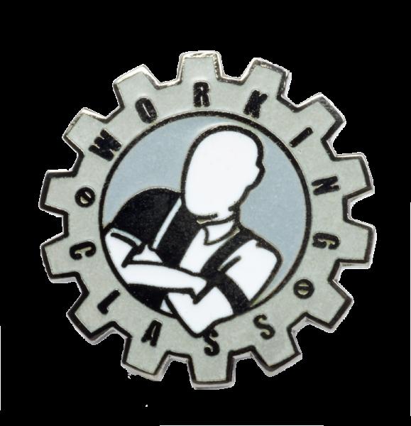 Metallanstecker Zahnrad - Working Class