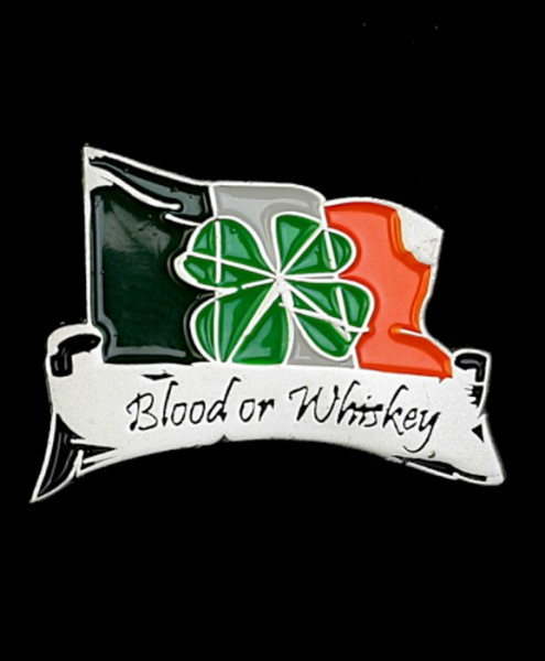 """Metal-Pin """"Blood or Whiskey"""""""