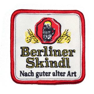 """Aufnäher (gestickt) """"Berliner Skindl"""""""