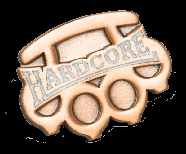 Metallanstecker Hardcore brass knuckle