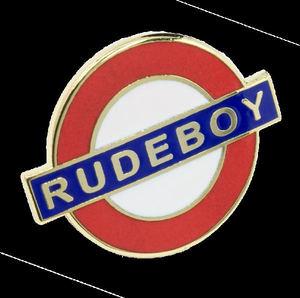 Metallanstecker Rudeboy - Underground