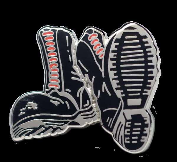 Metallanstecker Boots