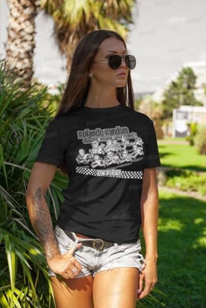 "T-Shirt ""Rolando Random... - On Fire"" (Damen)"