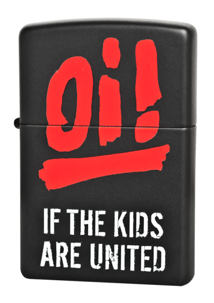 orig. Zippo Oi! If the kids are united