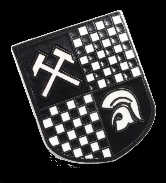 Metallanstecker Wappen Trojan/ Working Class