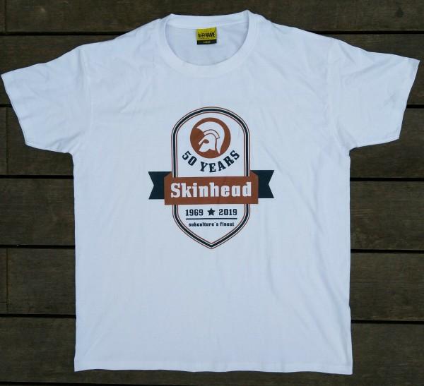 "T-Shirt ""Skinhead – 50 Years"""