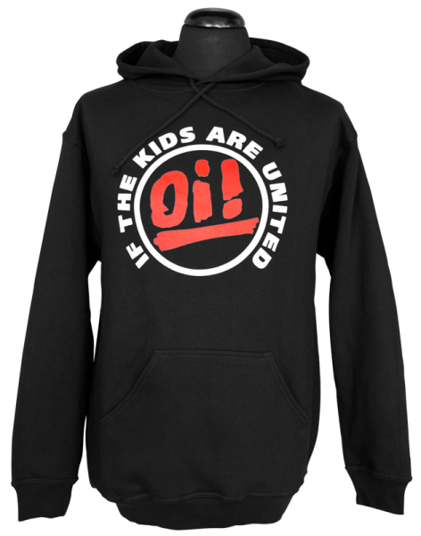 Kapuzenpullover Oi! If the kids are united