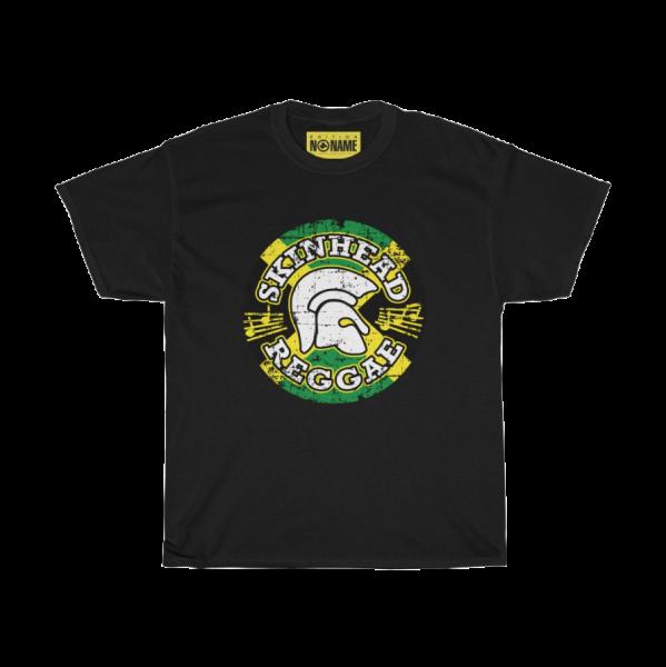 """T-Shirt """"Skinhead Reggae Emblem"""", schwarz (PoD)"""