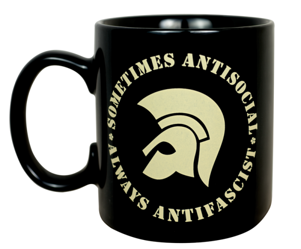 Kaffeepott sometimes antisocial - always antifascist
