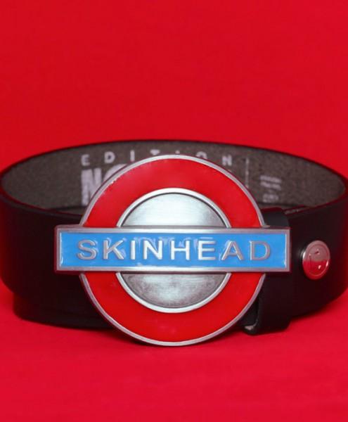 "Gürtelschließe ""Skinhead – Underground-Sign"""