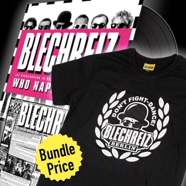 "Bundle ""Blechreiz LP + Shirt"" (Herren)"