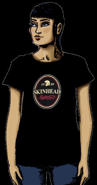 "T-Shirt ""Skinhead traditional"" (Damen)"