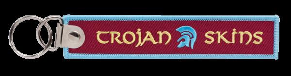 gestickter Schlüsselanhänger Trojan Skins