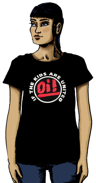 """T-Shirt """"Oi! If The Kids Are United"""" (Damen)"""