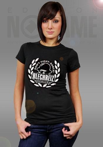 """T-Shirt """"Blechreiz – Don't Fight - Dance!"""" (Damen)"""