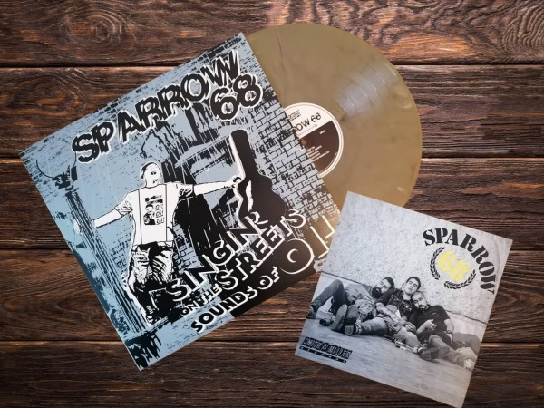 """Sparrow 68: """"singin' on the streets sounds of Oi!"""", recycling Vinyl + CD"""